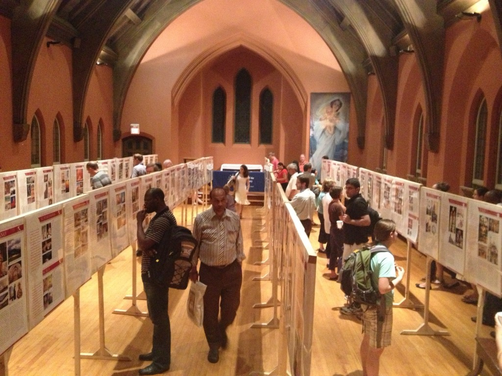 Exhibit of Eucharistic Miracles